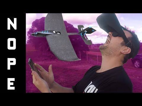 """""""It will be FINE"""" they said!!  RC PLANE GOES AWOL!! ✈✈✈Tobyrich smartplane review - UC3ioIOr3tH6Yz8qzr418R-g"""