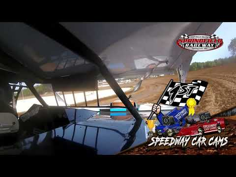 #24B Carter Brownsberger - Midwest Mod - 9-5-2021 Springfield Raceway - In Car Camera - dirt track racing video image