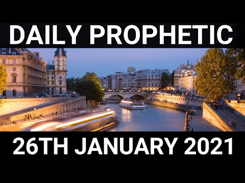 Daily Prophetic 26 January 2021 7 of 7