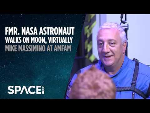 Fmr. NASA Astronaut Walks on Moon, Virtually - UCVTomc35agH1SM6kCKzwW_g