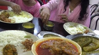 Unlimited Rice with Chicken Meal @ 120 rs | Rainbow Family Hotel - New Digha India