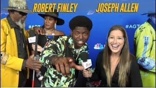 Why Ladies LOVE Howie Mandel's Golden Buzzer! Jospeh Allen + Robert Finley Interview