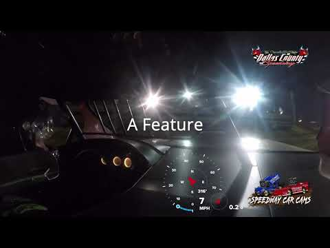 #00 Ryan Larsen - Midwest Modified - 7-23-2021 Dallas County Speedway - In Car Camera.mov - dirt track racing video image