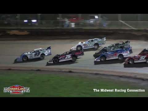 2021 USA Nationals Highlights - Cedar Lake Speedway 08/07/2021 - dirt track racing video image