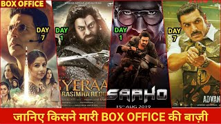 Mission Mangal vs Batla House, Mission Mangal Box Office Collection, Saaho box office collection,