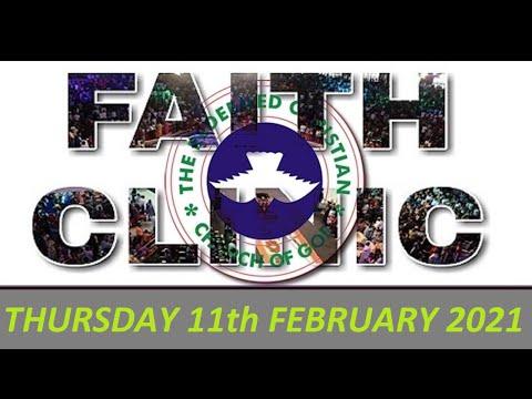 RCCG FEBRUARY 11th 2021 FAITH CLINIC