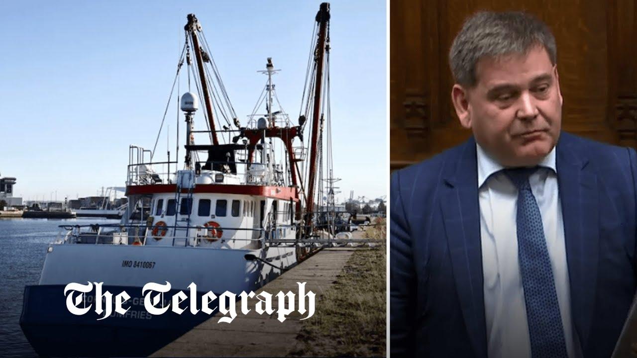 Fishing row: UK should stand up to 'little Napoleons clinging onto power', says Andrew Bridgen