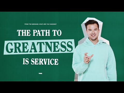 The Path To Greatness Is Service - A Message from