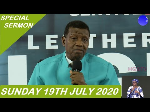 PASTOR E.A ADEBOYE SERMON - FROM LOCKDOWN TO LEAPING UP _#6