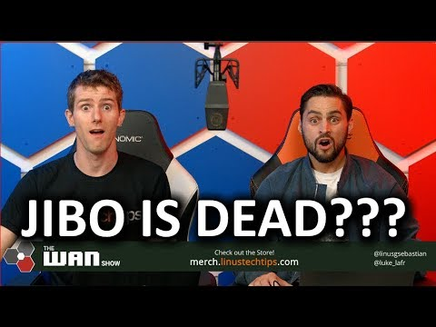 JIBO IS DEAD!?!? - The WAN Show Nov 30 2018 - UCXuqSBlHAE6Xw-yeJA0Tunw