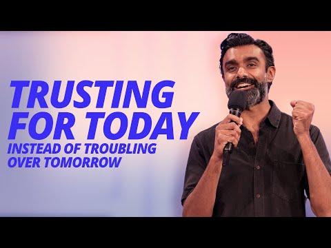 Trusting For Today  Chrishan Jeyaratnam  Hillsong Church Online