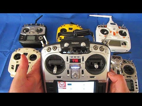 Jumper T16 16 Channel Multi Protocol RC Transmitter Flight Test Review - UC90A4JdsSoFm1Okfu0DHTuQ