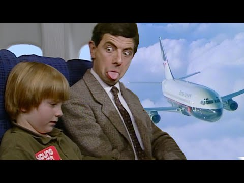 Safe Flight Mr Bean! | Funny Clips | Mr Bean Official - UCEwIUtFBhaI2L2PuKv0KL2g