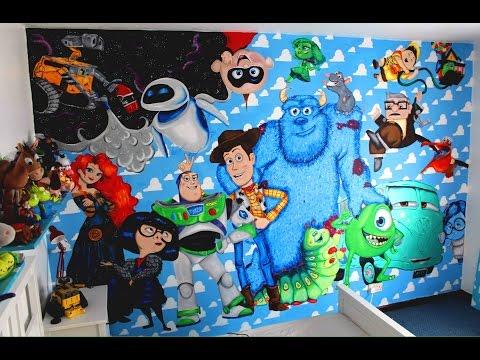 Disney Pixar Wall Mural - UCprMAo2KMMAD3HG9S-w769g