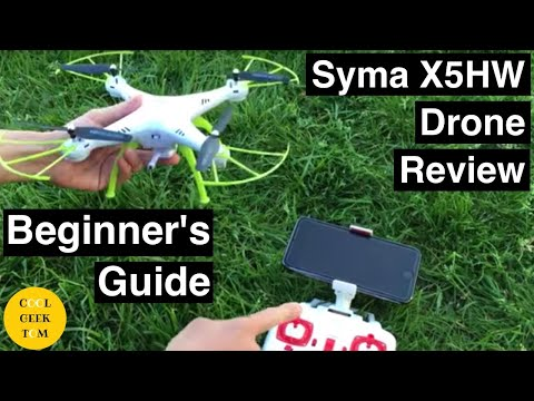 Syma X5HW RC Quadcopter Drone Review Beginner's Guide - UCRSXq2_ItdqCtDGG5GdibSg