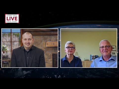 Charis Daily Live Bible Study: Aspects of Leadership - Klaus-Dieter and Ann Gruber - July 22, 2020