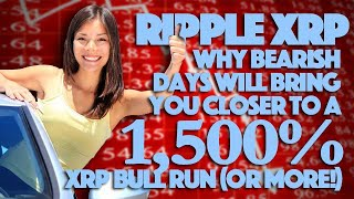 Ripple XRP: Why Bearish Days Will Bring You Closer To A 1,500% XRP Bull Run (Or More!) - Math