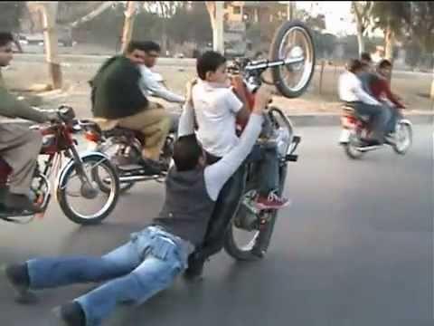 Awesome One Wheeling