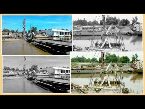 Kiên Giang: Cầu 'từ thiện' chưa xây xong đã sập