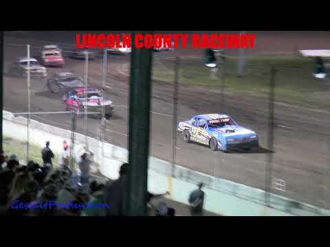 Lincoln County Raceway IMCA Stock Car Main    7 17 21 - dirt track racing video image