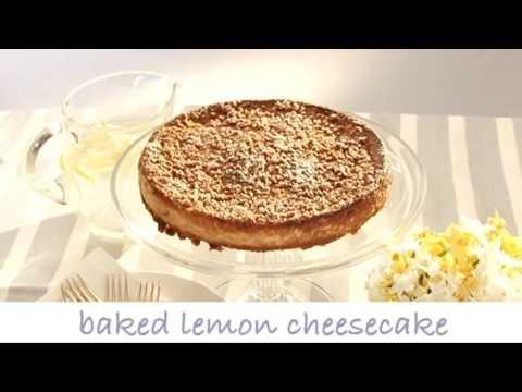 Baked Lemon and Sultana Cheesecake (Tesco Recipe Video)