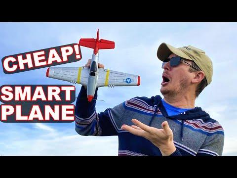 BEST Cheapest RC Plane P51 Warbird 2020 So Far RTF w/ Flight Stabilization!! TheRcSaylors - UCYWhRC3xtD_acDIZdr53huA