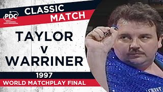Taylor v Warriner - 1997 World Matchplay Final - Extended Highlights