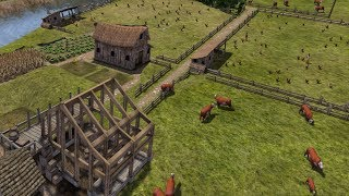 Banished   Ep. 09   Tavern Construction, Chicken Livestock    Banished City Building Tycoon Gameplay
