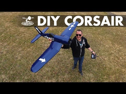 You can build this! | DIY Corsair Warbird! - UC9zTuyWffK9ckEz1216noAw