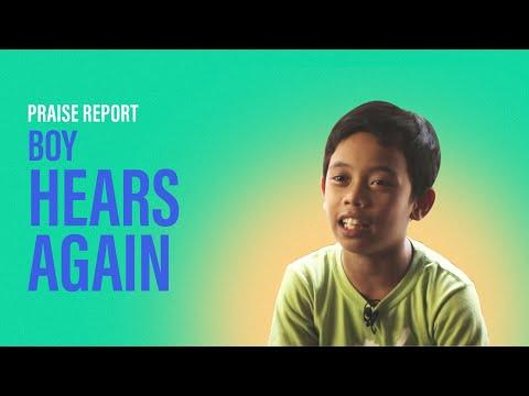Boy Hears Again  New Creation Church
