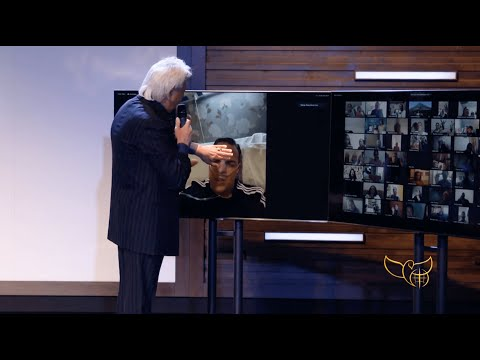 Pastor Benny Hinn prays for man with COVID-19 - Zoom Healing Moment