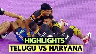 Pro Kabaddi 2019 Highlights(Hindi): Telugu Titans vs Haryana Steelers | Sports Tak