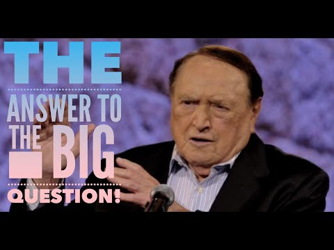 The Answer To The Big Question!