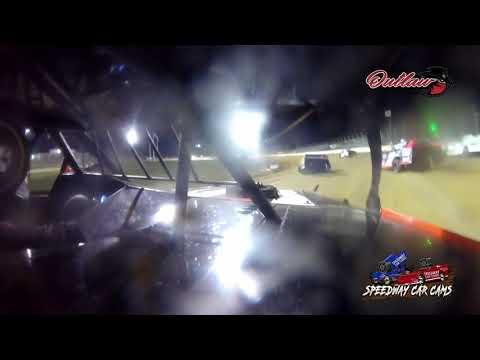 #7H Brett Hanson - USRA Modified - 10-16-2021 Outlaw Motor Speedway - In Car Camera - dirt track racing video image