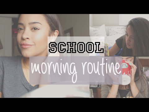 MY SCHOOL MORNING ROUTINE + SIMPLE MAKEUP FOR SCHOOL!   Maria Bethany - UCzj41PvS6wpzs4JkXTY0ikA