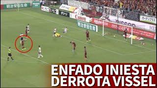 Vissel Kobe 0-2 Yokohama | El enfado de Iniesta tras el error que supuso la derrota | Diario AS