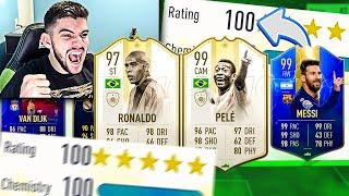 CONSEGUI MAIS UMA VEZ!! 195 FUT DRAFT É REALIDADE!! FIFA 19