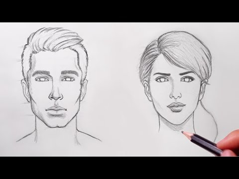 How to Draw Faces - UCDQNp22J8fGKdMytv0s3Zgg