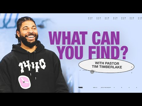 What Can You Find?  Small Faith  Tim Timberlake