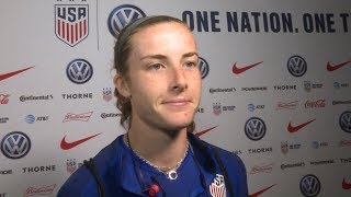 US Women's National Team defender Tierna Davidson breaks down her road from Stanford to the World...