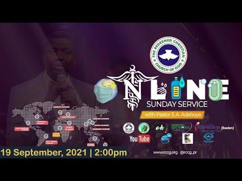 RCCG SEPTEMBER 19th 2021  PASTOR E.A ADEBOYE SPECIAL SERVICE