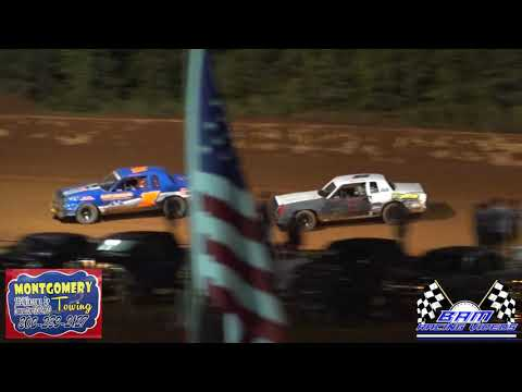Pure Stock Feature - Lancaster Motor Speedway 7/17/21 - dirt track racing video image