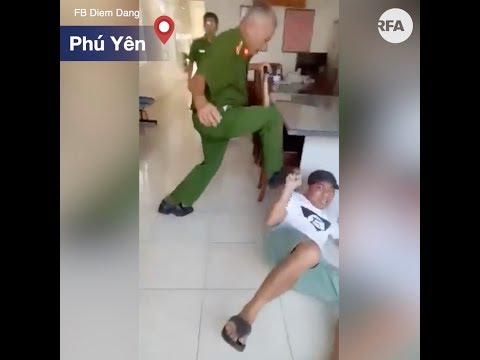 Thực hư công an Phú Yên đạp vào mặt người dân tại trụ sở