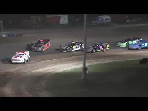Pro Stock A-Feature at Crystal Motor Speedway, Michigan on 08-14-2021!! - dirt track racing video image