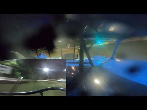 In Car Cam of Jordan Bauer at Highland Speedway 9-10-21 (LM) - dirt track racing video image