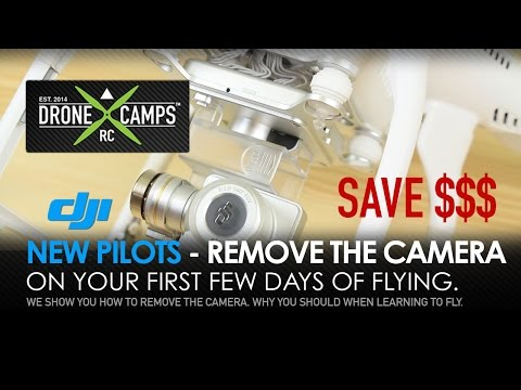 DJI Phantom for Newbies: - New Pilot Tips, REMOVE the CAMERA & More! - UCwojJxGQ0SNeVV09mKlnonA
