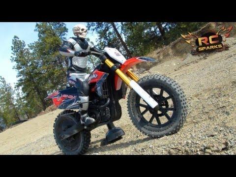 RC ADVENTURES - GHOST RIDER - 1ST Running Vid - Venom VMX 450 DIRT BIKE - UCxcjVHL-2o3D6Q9esu05a1Q