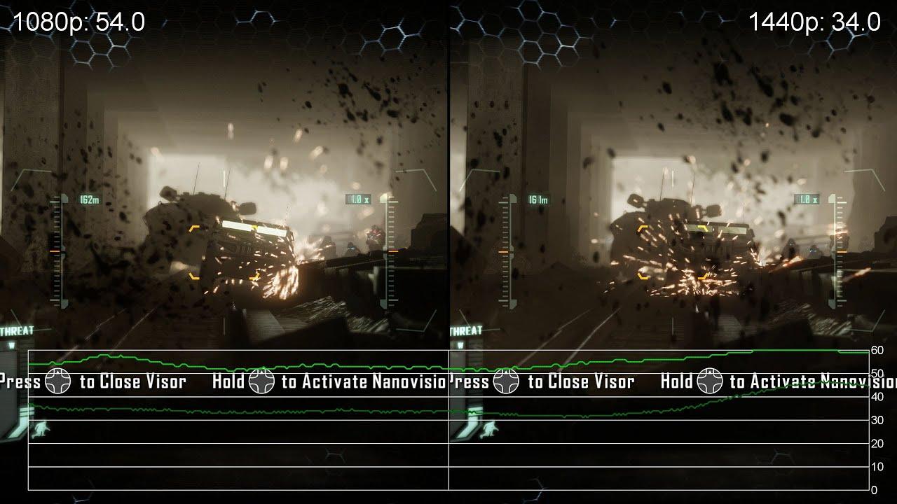 crysis 3 geforce gtx 760 1080p vs 1440p frame rate tests