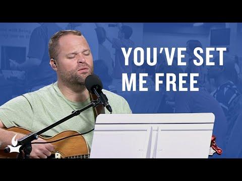 You've Set Me Free -- The Prayer Room Live Moment