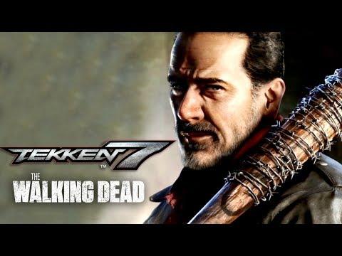 Tekken 7 - Negan Official Gameplay Reveal Trailer | TWT 2018 - UCbu2SsF-Or3Rsn3NxqODImw